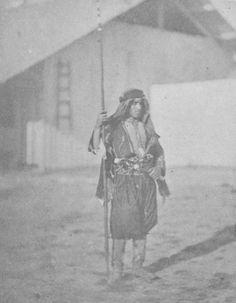 An Arab Guard in Çanakkale, Crimean War, 1855 (Kırım Harbinde Çanakkale'de Arap Koruma)