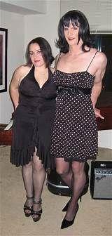 Another sissy husband! Transgender Couple, Transgender Captions, Feminized Husband, Dressing, Dress Images, Beautiful Couple, Stunningly Beautiful, Crossdressers, Cute Couples