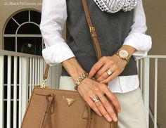 Prada-Saffiano-Double-Zip-Tote-Michele-Watch-Talbots-Sweater-Shell