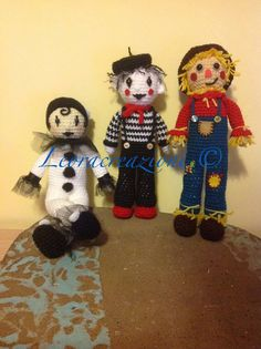 Spaventapasseri, Pierrot e Mimo
