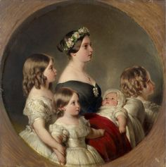 Queen Victoria (1819-1901) with her Four Eldest Children | Royal Collection Trust