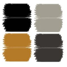 color combinations with charcoal gray and gold - Google Search