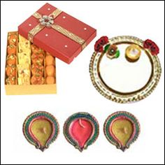 Diwali Pooja Gift Collections!  Best Spiritual Collection specially designed for prosperous Diwali. That are a part of this Auspicious Occasion, Fill Your Life With Happiness Joy And Prosperity  Click here to Order: http://is.gd/DiwaliPoojaThalis