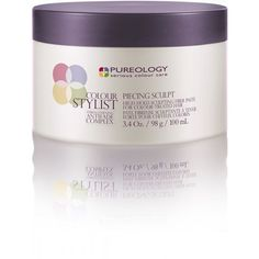 Pureology Colour Stylist Piecing Sculpt, SleekHair.com, $24.99: This putty is soft enough to spread evenly yet will still hold everything in place.
