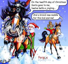 Twelfth Day of Christmas Fergus