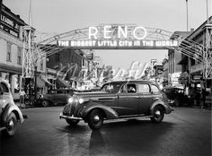 The old Reno Arch sign still exists but it was moved a couple of streets over from Virginia Street where the new arch stands.  Have you ever been to Reno, NV?  What was your favorite site?