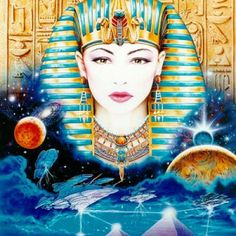 The Egyptian Goddess Isis  An Offering