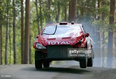 Harri Rovanpera and Risto Pietilainen of Finland in action in the Marlboro Peugeot during Leg 1 of the WRC Neste Rally Findland 2004 on August 6, 2004 in Finland.