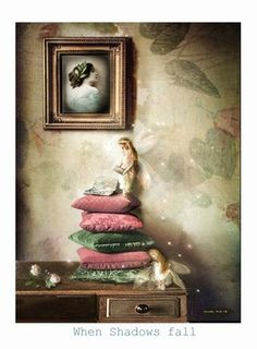 kiss goodnight Print - Charlotte Bird Giclee Mounted Prints   Photography   Cameraless