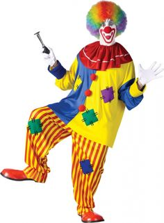 who can I convince to wear this clown costume?