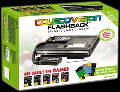 Colecovision gets the Flashback treatment via AT Games with a 60-game emulated console
