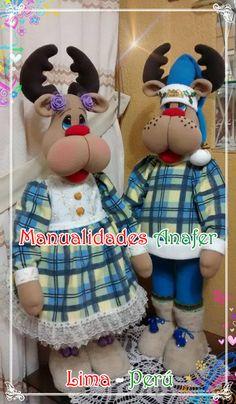 Reno, Christmas Decorations, Children, North Pole, Body Parts, Snowman Crafts, Papa Noel, Xmas, Feltro