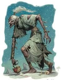 Hag, Dune Scourges of the waste, dune hags are giant crones who haunt the desert seeking human flesh to sate their hunger. Thought to be a weaker offshoot of the more powerful annis hags, dune hags. Mythological Creatures, Fantasy Creatures, Mythical Creatures, Cool Monsters, Dnd Monsters, Red Ghost, Fantasy Literature, Evil Demons, Horror