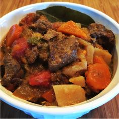 Old Fashioned Slow Cooker Stew - When you want dinner ready, try a Paleo slow cooker recipe.