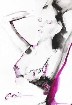 Gary's fashion illusration beauty of body  by Gary's Fashion Illustration