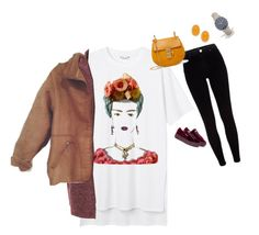 """""""Bez tytułu #4266"""" by olgon ❤ liked on Polyvore featuring Monki, River Island, Puma, Chloé, WearAll, Kenneth Jay Lane, CLUSE and plus size clothing"""