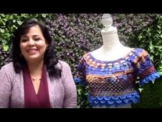 Patron Crochet, Sweaters For Women, Men Sweater, Top Videos, Short Tops, Learn To Crochet, Crochet Clothes, Crochet Projects, Tunic Tops