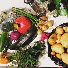 Lecker Gemüse. #gartenglück by olliwinter