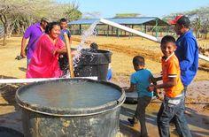 Directora del DPS supervisó obras de tres pozos subterráneos en La Guajira