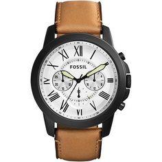 [Sub] Relógio Masculino Fossil Analógico Casual Fs5087/0bn - R$ 351,11