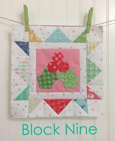 Bee In My Bonnet: Cozy Christmas Sew Along - Week Nine - Block Nine!!
