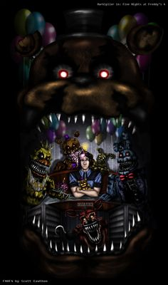 Five Nights at Freddy's 4 by BazukaTREE on DeviantArt