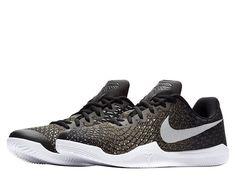 80d4b15f88d3 Nike KOBE Mamba Instinct Mens Basketball Shoes 8.5 Black White Grey 852473  017