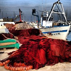 Artes de pesca en el Puerto de Denia #denia #puerto