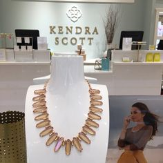 Join our team at Kendra Scott South Park on October 1, 2015 between 6 pm and 8 pm and 20% of all sales goes back to the American Cancer Society!