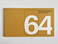 Beautiful Swiss Books, 1966 — Designer Unknown
