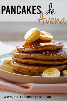 Pancakes de avena y queso cottage Diabetic Friendly, Queso, Vegan Vegetarian, Eat, Breakfast, Healthy, Desserts, Recipes, Diabetes
