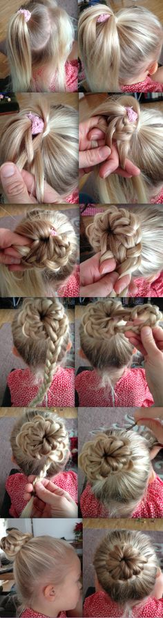 How to do a french braid bun: step-by-step pictures