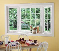 photo gallery of bay windows | bow window options bow windows are available as options