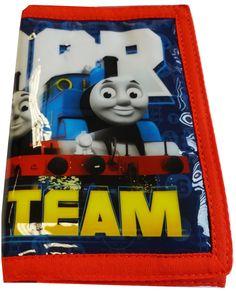 Deze portemonnee van Thomas de trein is ideaal in het opbergen van al je muntgeld. De portemonnee is bedrukt met Thomas de trein. Afmetingen open: 25,5cm breed en 13cm hoog.   Afmeting: volgt later.. - Portemonnee Thomas: 26x13x1 cm