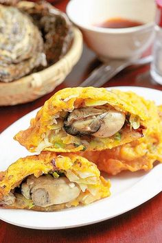 oyster fritter | Taiwanese Food