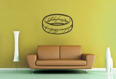 One Ring - Tolkien Wall Decal