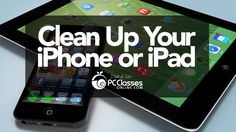 Cleaning your iPhone or iPad is easy with these simple tricks. We'll also show you how to make it run more efficiently and improve your overall battery life....