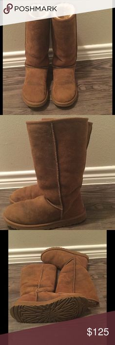 Tall UGG boots Like new. Only worn a couple times. UGG Shoes Winter & Rain Boots