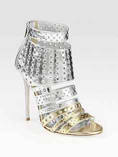 Jimmy Choo Malika Metallic Leather Sandals- I bought these and they arrived today!!! AMAZING