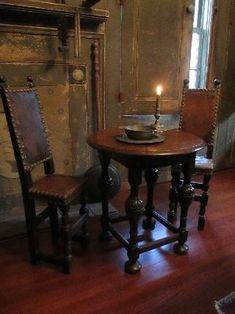 Dining room – Home Decor Designs Baroque, Antique Interior, Antique Furniture, Tudor Decor, Renaissance, Primitive Christmas Decorating, Gothic, Country Dining Rooms, Fantasy House