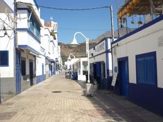 Street in Puerto de las Nieves, a part of Agaete, a wonderfully peaceful and relaxing fishing village in the north of Gran Canaria. http://abenteuerliche-reisen.de/gran-canaria/gran-canaria-tour-westen-landesinnere/agaete/
