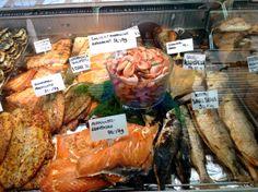 SEAFOOD HEAVEN - Helsinki Harbour Market Vendor 2012