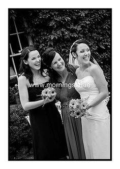 Mother of the bride with her two girls