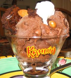 My Mom's Deadly Dark Chocolate Kahlua Brownie Chunk Ice Cream