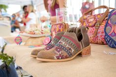 Boots Celo. Gitta Embroidered leather Boots, Leather, Crotch Boots, Heeled Boots, Shoe Boot
