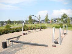 Otetaan hiekkalelut mukaan!: Paulapuiston leikkipaikka