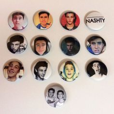 Here available are custom button pins of the dreamy Nash Grier, Cameron Dallas, and Matthew Espinosa best known from their Hilarious 6-seconds Vine Videos. These pins are limited and hard to find. Wear these pins on your shirt, your book bag, your snapback hat, where ever! Perfect little gift to yourself or for a friend! #nashgrier #matthewespinosa #camerondallas #nash #buttonpins #pins #magcon #espinosa #dallas #limited #nash #vine #viners #vineguys #vineboys #cameron #grier