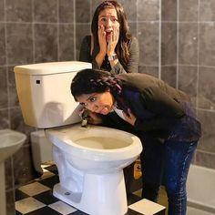 Quien se atrevería a tomar agua de un wc?? @ppteamkaren lo hizo en edte vídeo