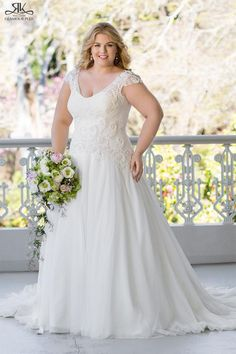 2016%2520Lace%2520Plus%2520Size%2520Wedding%2520Dresses%2520with%2520Cap%2520Sleeves%2520White%2520Tulle%2520A%2520Line%2520Garden%2520Church%2520Bridal%2520Gowns%2520Scoop%2520Neck%2520Covered%2520Buttons%2520Back%2520Online%2520with%2520%2524207.05%252FPiece%2520on%2520Marrysa's%2520Store%2520%257C%2520DHgate.com