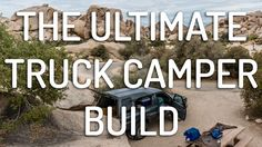 How to build out the back: detailed, step-by-step directions, photos, a video walk through, and sketches of how to build the ultimate truck camper setup.